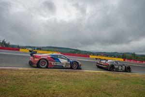 #72 SMP Racing Ferrari 488 GT3: Miguel Molina, Mikhail Aleshin, Davide Rigon, #66 Attempto Racing Audi R8 LMS GT3 2019: Clemens Schmid, Milan Dontje, Kelvin van der Linde