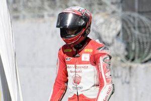 Andi Izdihar, Honda Team Asia after his crashes