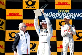 Podium: second place Bruno Spengler, BMW Team RMG