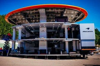 Motorhome della McLaren
