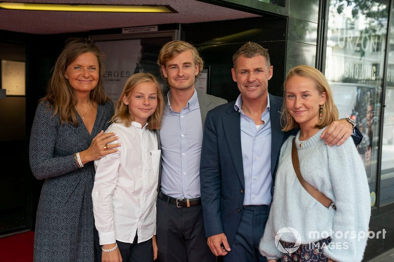 Tom Kristensen with his family