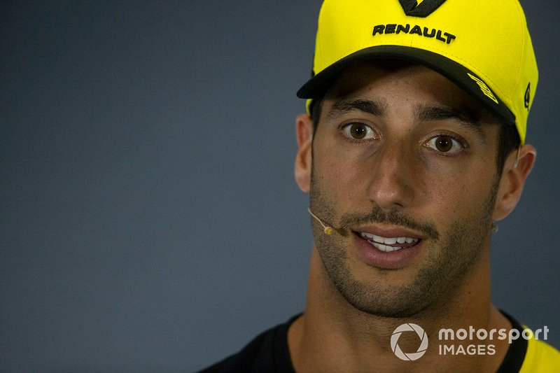 Daniel Ricciardo, Renault F1 Team In the Press Conference
