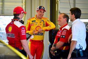 Joey Logano, Team Penske, Ford Mustang Shell Pennzoil, Todd Gordon