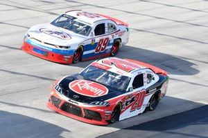 Christopher Bell, Joe Gibbs Racing, Toyota Supra Rheem, Landon Cassill, Shepherd Racing Ventures, Chevrolet Camaro Visone RV