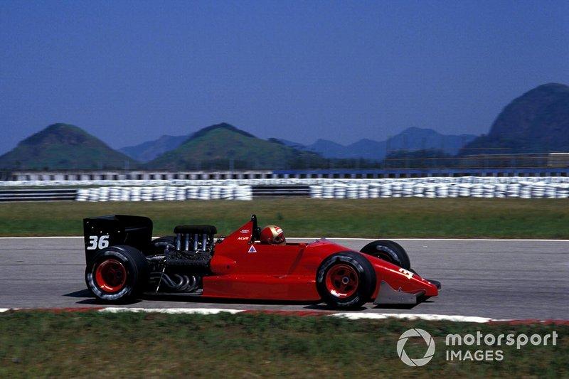 Alex Caffi, Dallara Ford