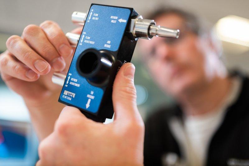 UCL, UCLH y la F1 desarrollan sistemas de respiración asistida en Reino Unido