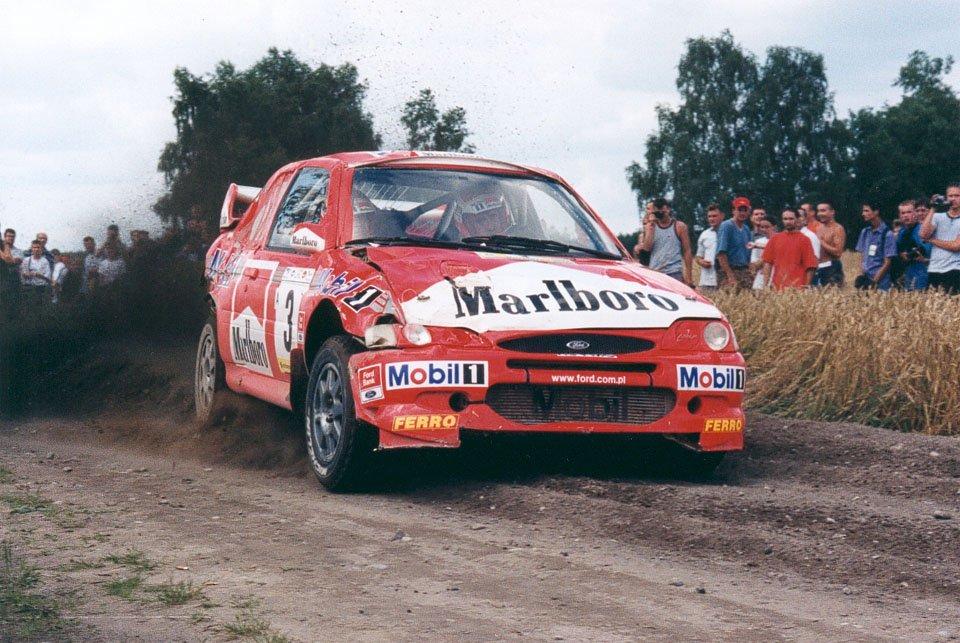 Janusz Kulig, Jarosław Baran, Ford Escort WRC