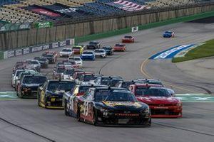 Myatt Snider, RSS Racing, Chevrolet Camaro The Original Louisiana Hot Sauce leads at the star