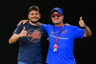 Giancarlo Fisichella y Rubens Barrichello