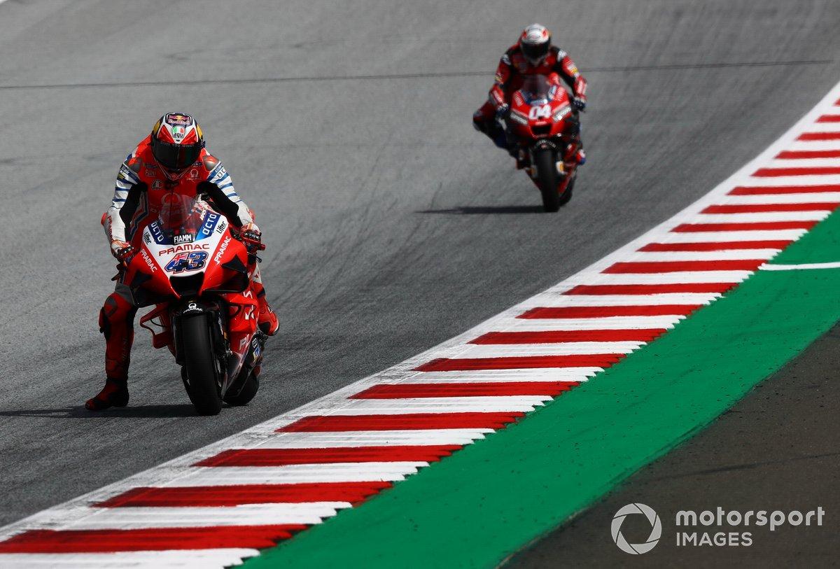Jack Miller, Pramac Racing Andrea Dovizioso, Ducati Team