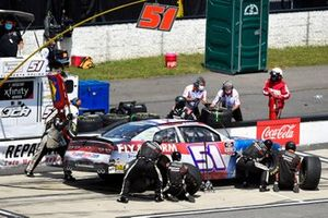 Jeremy Clements, Jeremy Clements Racing, Chevrolet Camaro Repairables.com