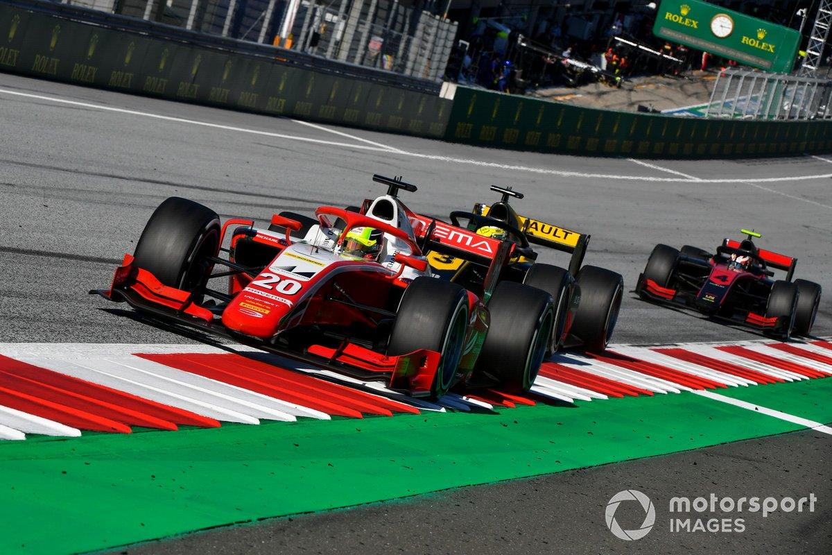 Mick Schumacher, Prema Racing, e Callum Ilott, UNI-Virtuosi