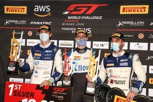 #26 Sainteloc Racing Audi R8 LMS GT3: Steven Palette, Simon Gachet
