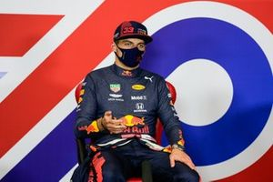 Max Verstappen, Red Bull Racing, in conferenza stampa