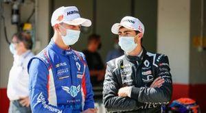 David Vidales y William Alatalo (JD Motorsport)