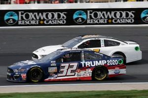 Corey LaJoie, Go FAS Racing, Trump 2020 Ford Mustang, J.J. Yeley, Rick Ware Racing, Ford Mustang