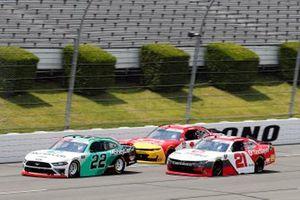 Austin Cindric, Team Penske, Ford Mustang, Myatt Snider, Richard Childress Racing, Chevrolet Camaro