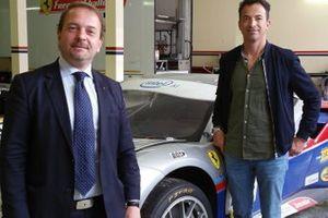 Manfredi Ravetto e Paolo Ruberti, Scuderia Ravetto & Ruberti-SR&R, Ferrari 488 GT3