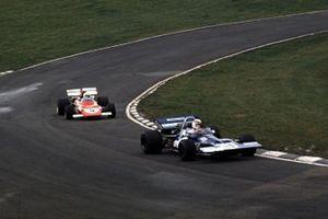 Jackie Stewart, Tyrrell 001-Ford Cosworth, Clay Regazzoni, Ferrari 312B2