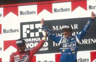 Ayrton Senna, McLaren, Thierry Boutsen, Williams, GP d' Ungheria del 1990