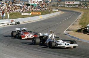 Peter Revson, McLaren M19A Ford, Jacky Ickx, Ferrari 312B2