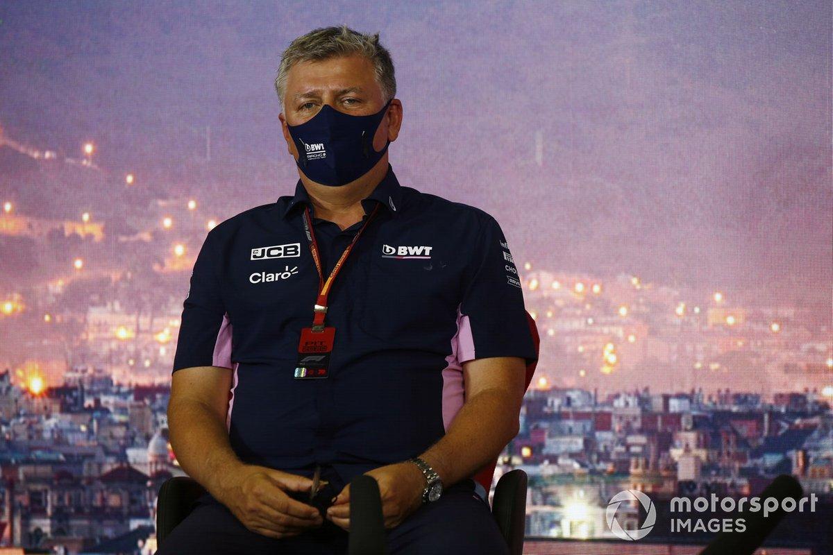 Otmar Szafnauer, Team Principal and CEO, Racing Point
