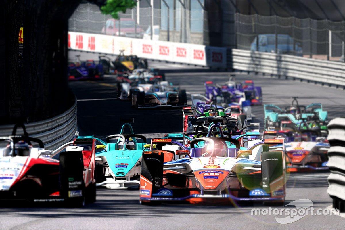 Pretemporada del Race at Home Challenge de la Fórmula E, con Motorsport Games