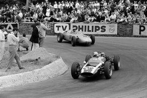 Jack Brabham, Cooper T55 Climax, Joakim Bonnier, Porsche 718