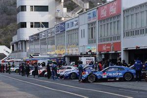 Cars on pitman