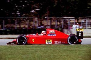 Nigel Mansell, Ferrari 641/2, al GP del Brasile del 1990