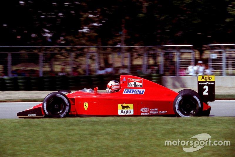 #2: Nigel Mansell (Ferrari)