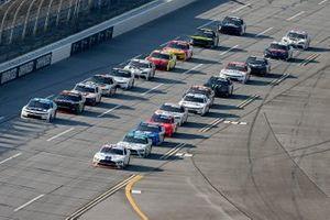Chase Briscoe, Stewart-Haas Racing, Anthony Alfredo, Richard Childress Racing, Chevrolet Camaro