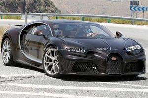 Bugatti Chiron Super Sport spy pic