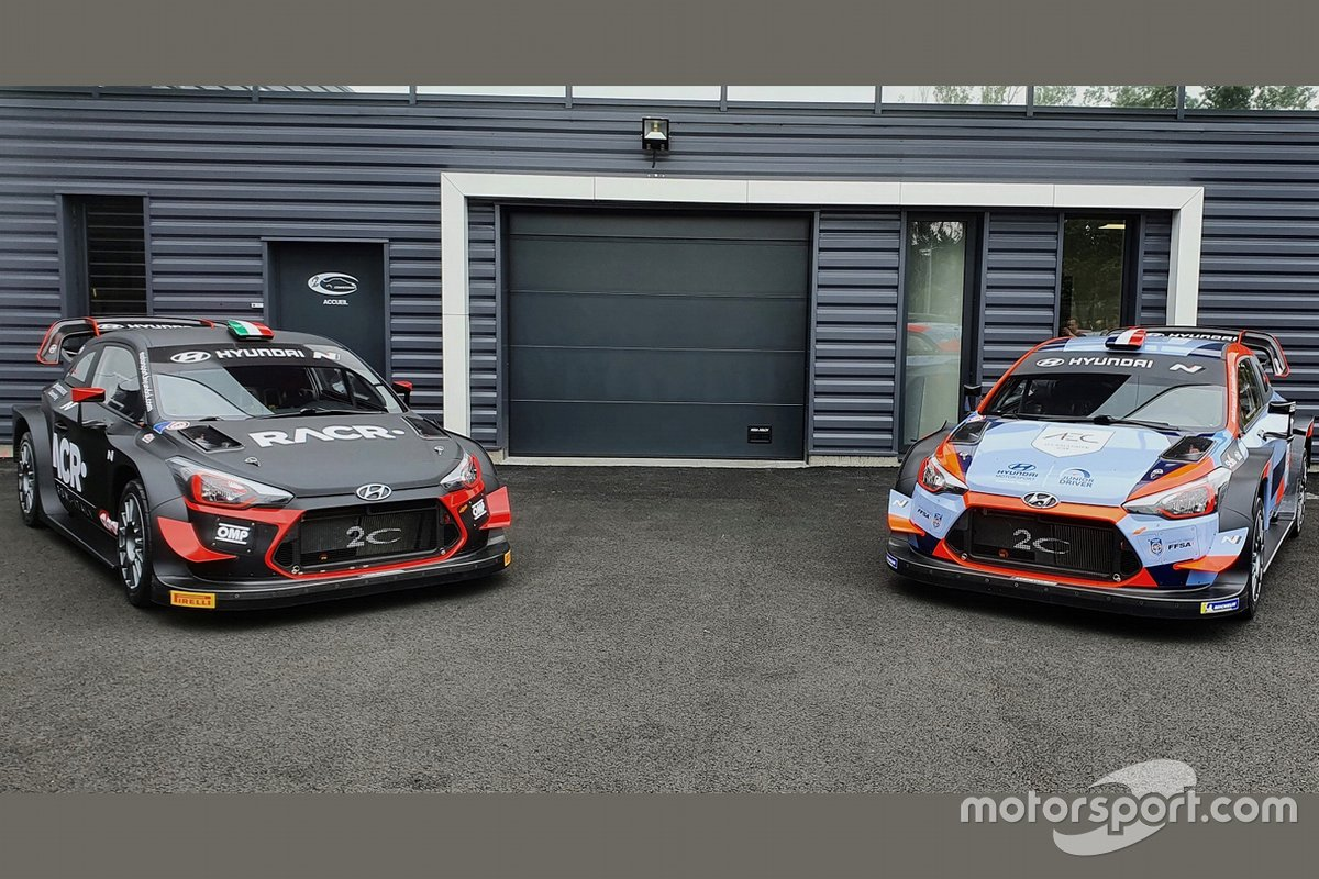 Luca Pedersoli, Anna Tomasi, Pierre-Louis Loubet, Hyundai i20 WRC Plus