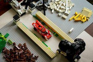 Fabricación de Porsche Lego