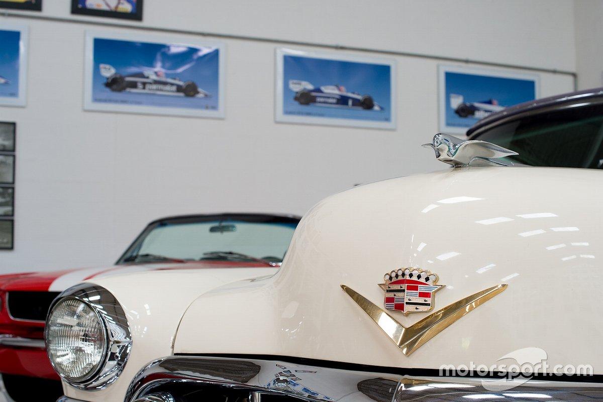 Detalhe de um Cadillac