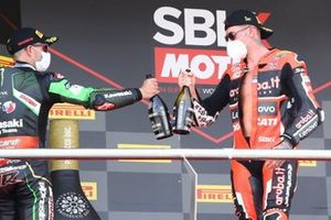 1. Scott Redding, Aruba.it Racing Ducati, 2. Jonathan Rea, Kawasaki Racing Team