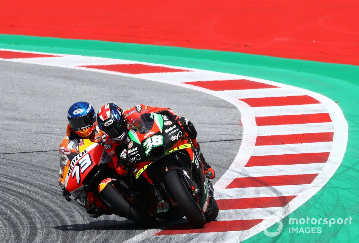Alex Márquez, Repsol Honda Team Bradley Smith, Aprilia Racing Team Gresini