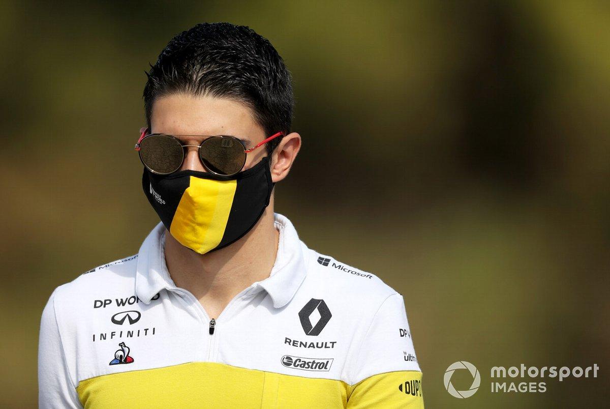 Esteban Ocon, Renault llega al circuito