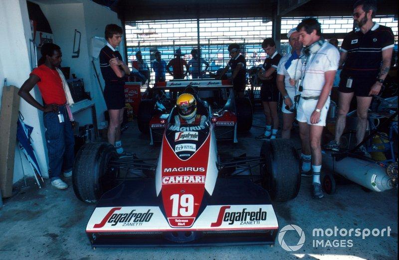 Ayrton Senna, Toleman TG183B