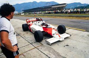Alain Prost, McLaren MP4-2 TAG