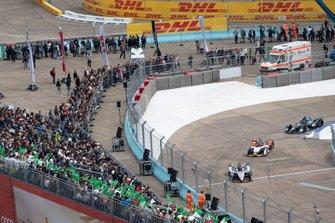 Oliver Rowland, Nissan e.Dams, Nissan IMO1, Lucas Di Grassi, Audi Sport ABT Schaeffler, Audi e-tron FE05, Stoffel Vandoorne, HWA Racelab, VFE-05