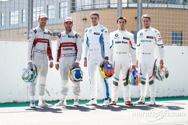Campeones, René Rast, Audi Sport Team Rosberg, Mike Rockenfeller, Audi Sport Team Phoenix, Paul Di Resta, R-Motorsport, Bruno Spengler, BMW Team RMG, Marco Wittmann, BMW Team RMG