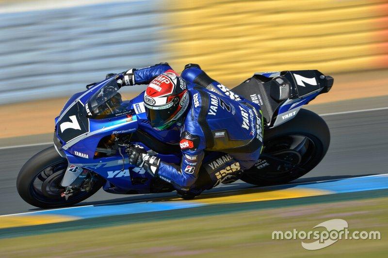 #7 Yamaha: Broc Parkes, Marvin Fritz, Niccolo Canepa, Randy Krummenacher