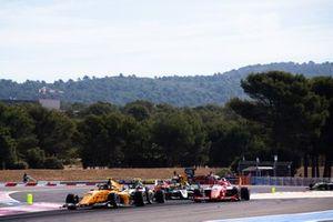 Alessio Deledda, Campos Racing and Marcus Armstrong, PREMA Racing Christian Lundgaard, ART Grand Prix