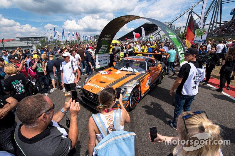 #2 Mercedes AMG Team Black Falcon Mercedes AMG GT3: Adam Christodoulou, Maro Engel, Manuel Metzger, Dirk Müller