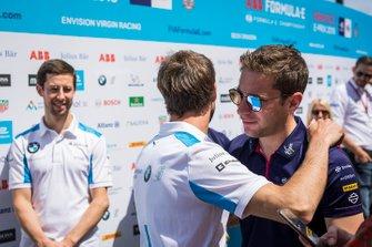 Robin Frijns, Envision Virgin Racing, abbraccia Antonio Felix da Costa, BMW I Andretti Motorsports