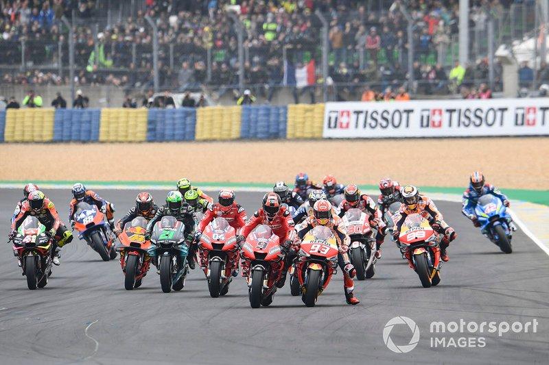 Marc Marquez, Repsol Honda Team, 1st lap