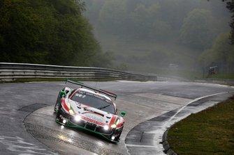 #11 Wochenspiegel Team Monschau Ferrari 488 GT3: Georg Weiss, Leonard Weiss, Hendrik Still