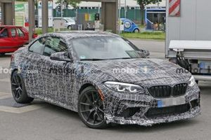 2020 BMW M2 CS spy photo